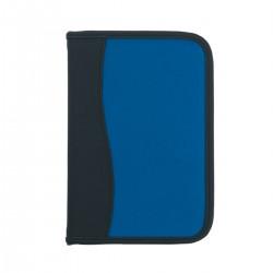 Custom Logo Small Microfiber Portfolio with Embossed PVC Trim