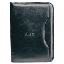 Custom Logo Deluxe Executive Vintage Leather Padfolio