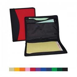 Custom Logo 600D Polyester 2 Tone Notebook/Document Organizer