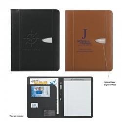 "Custom Logo Eclipse Bonded Leather - 8-1/2""X 11"" - Portfolio"