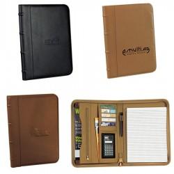 Custom Logo Executive Padfolio with Expandable Sleeve Pocket